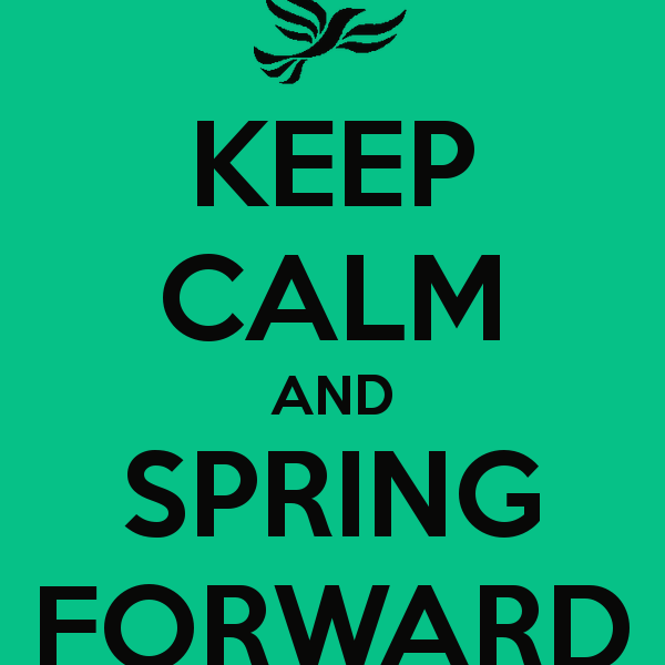 Five Steps to Regain the Lost Hour When We Spring Ahead