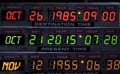 Back to the Future Day 2015
