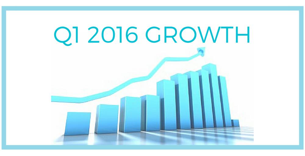Q1 2016 Growth