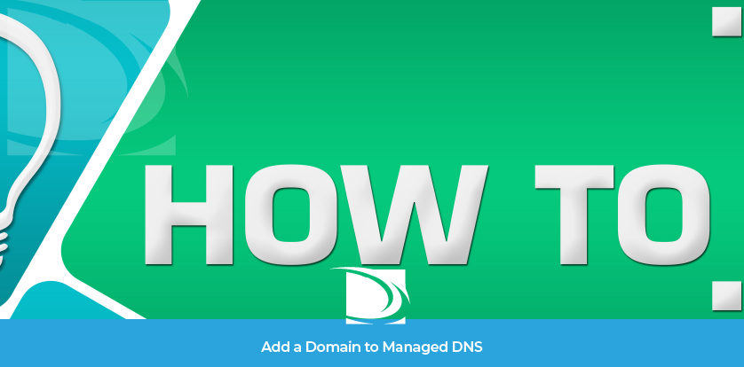 how to add a domain to managed dns