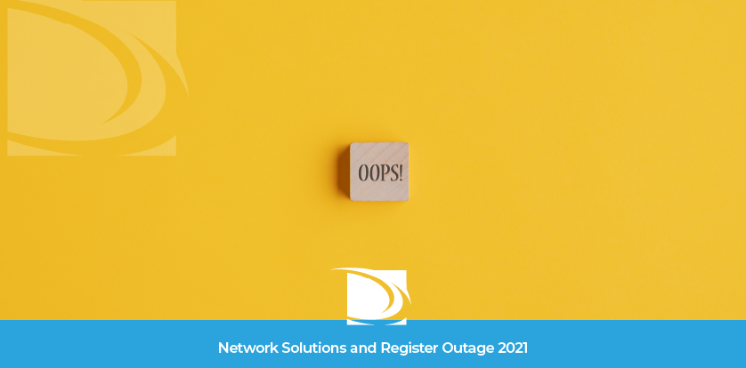 Network Solutions Outage 2021