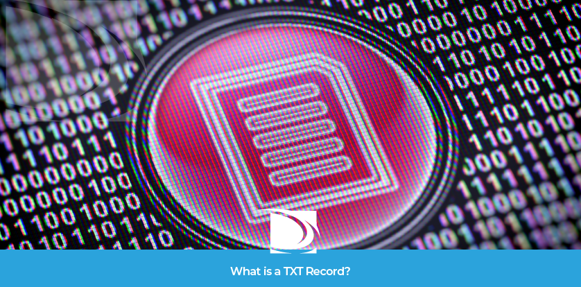 What is a TXT record?