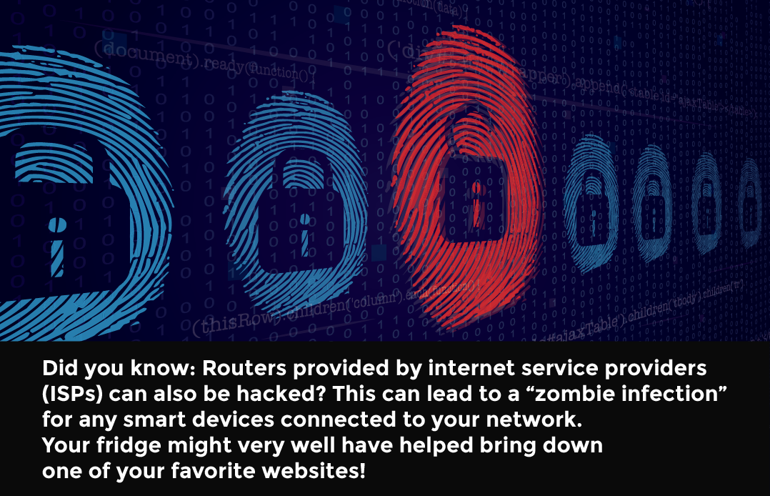 Fact: Did you know ISPs can be hacked by smart devices?